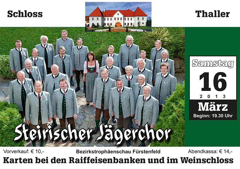 Konzert im Schloss Thaller